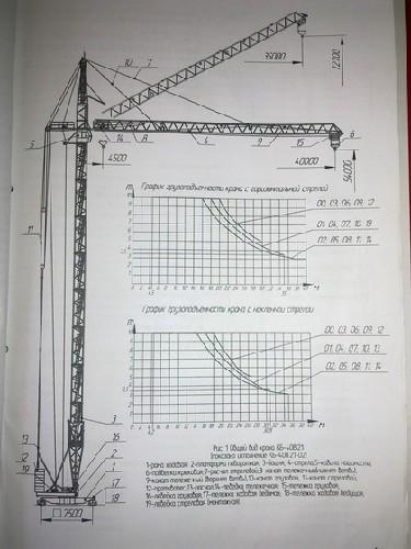 Кран башенный КБ-408-21-02