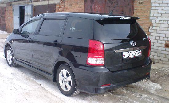 Toyota Wish, 2006 Минивэн