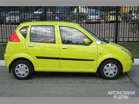 автомобиль Hafei Brio!