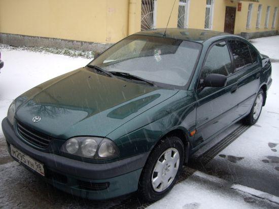 Авто toyota тойота avensis авенсис